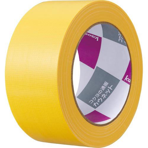 「カウコレ」プレミアム 音が出にくいカラー布テープ 黄×30