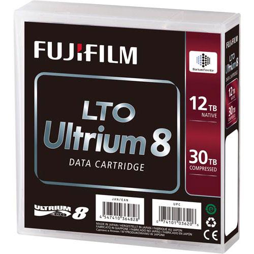 フジフイルム LTO8テープ