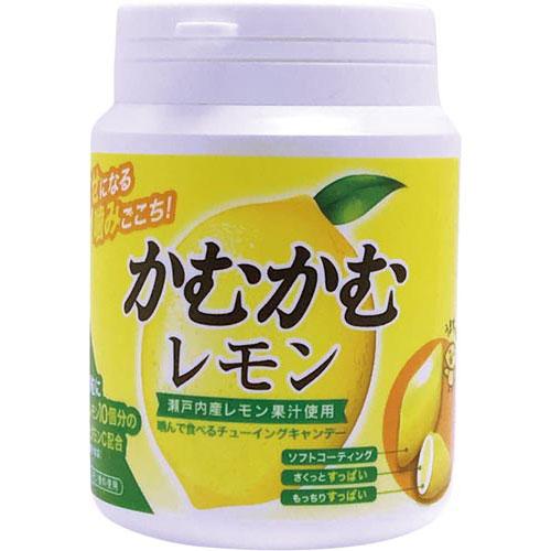 商品合計金額3000円 税込 即納 以上送料無料 三菱食品 迅速な対応で商品をお届け致します かむかむレモンボトル120g 3個×3