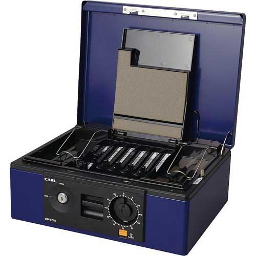 商品合計金額3000円 税込 以上送料無料 キャッシュボックス 物品 A4サイズ カール事務器 (訳ありセール 格安)