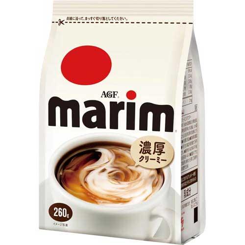 商品合計金額3000円 税込 マーケティング 以上送料無料 AGF 贈答 マリーム 260g袋 味の素AGF 260g袋 コーヒー用ミルク