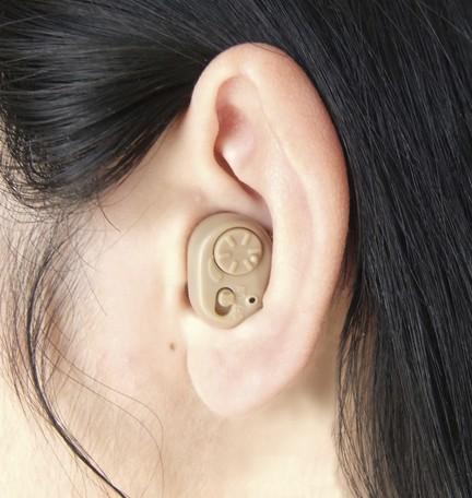 本日15日はカード利用で5倍/耳穴集音器 4個セット 耳穴タイプ 長寿命140時間連続使用可能 小型軽量 専用ハードケース付