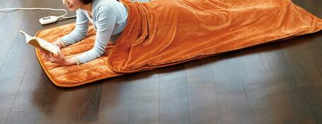 5/20はカードご利用で5倍日本製 あったか寝ころんぼマット 電気毛布 ホットカーペット ヒーター付