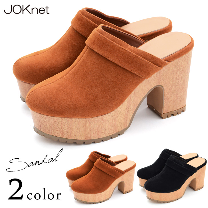 ... Global Market: Thickness bottom wedges ABO Sandals Women's shoes shoes  Sandals SABO Bohemian military thick bottom faux suede suede simple black  camel