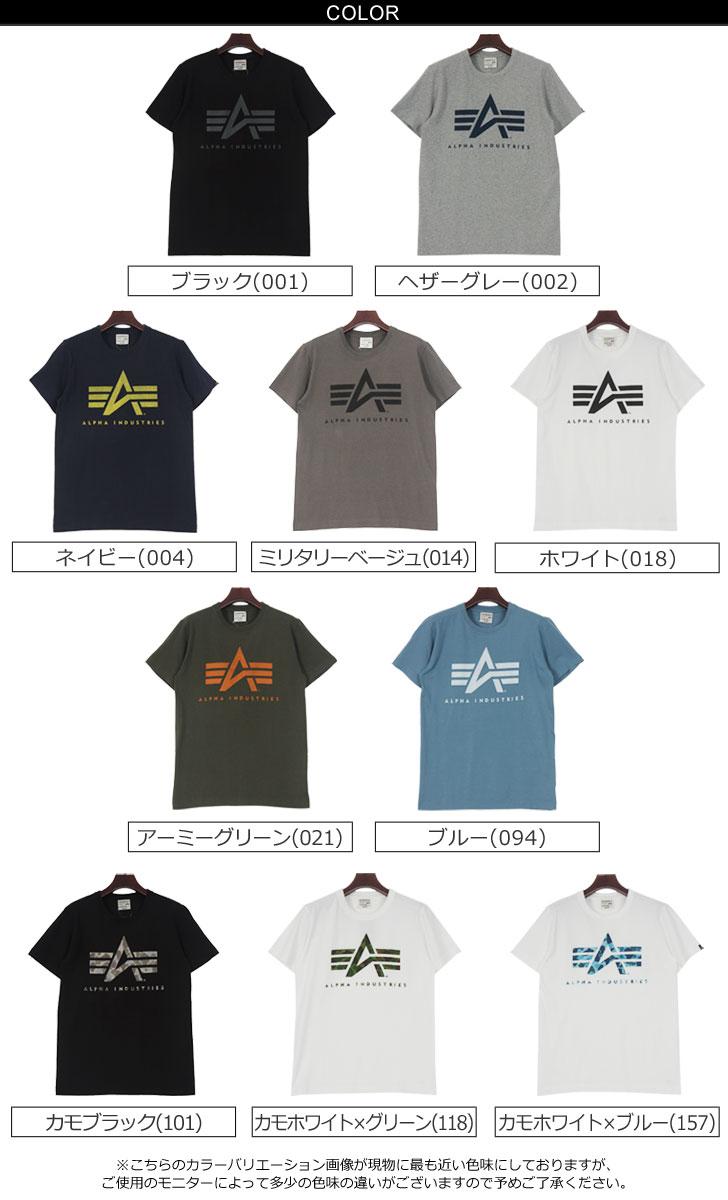 ALPHA 阿尔法短袖 A 标记 T 衬衫阿尔法工业标志打印简单 TC1097 前台打印军事休闲