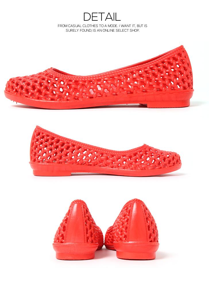 并不是所有网格平面橡胶泵妇女的鞋鞋滑上海滩凉鞋平跟鞋舒适的橡胶鞋伤害的夏季雨鞋雨海度假村游泳池 pettanko pettanko pettanko