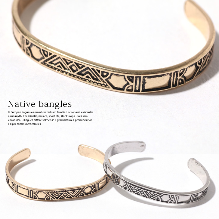 tout neuf bd1f1 f6bd9 Native carved seal bangle Lady's bangle bracelet metal accessories native  ethnic Shin pull gold silver carved seal wide jewelry adult opening C type  ...