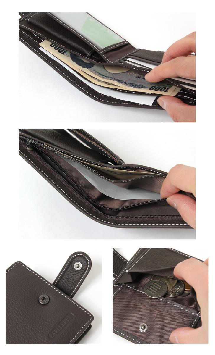 kawa | Rakuten Global Market: Two fold short wallet wallet wallet ...