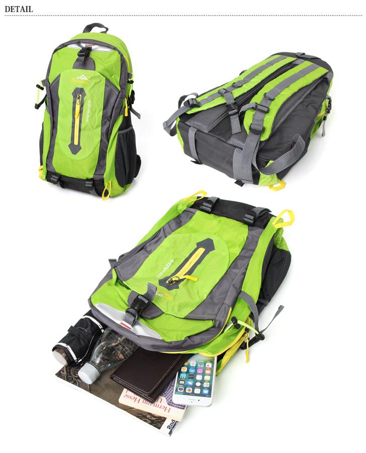 大容量 アウトドア リュック メンズ レディース デイパック リュックサック バックパック バッグ 鞄 かばん カバン A4 a4 アウトドア トラベル レジャー 旅行 遠足 合宿 登山 大きめ 通勤 通学 防災 災害