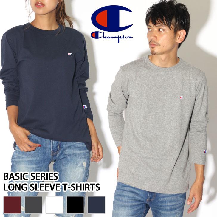 01eb17a0d Super SALE ☆ 10%OFF! Champion champion T-shirt long sleeves Basic series ...