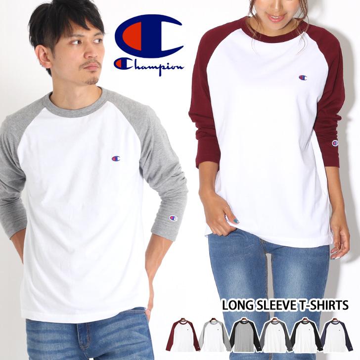 8f236c4b7 Champion champion T-shirt raglan sleeves long sleeves men gap Dis tops t  shirt Ron
