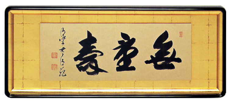 【初売り】 額装「無量寿」森清範老師, 豊貿易:c04dc375 --- atakoyescortlar.com