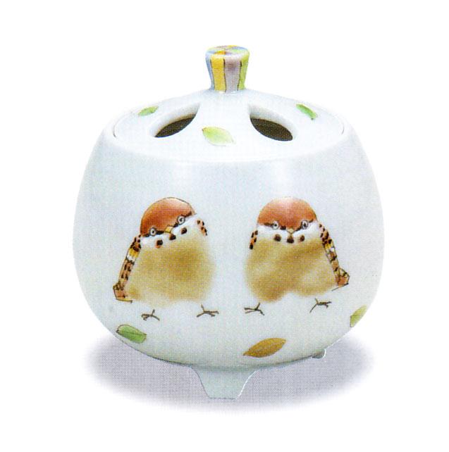 九谷焼 「2.5号豆香炉・ひなたぼっこ」お祝い・海外への贈り物・ギフト
