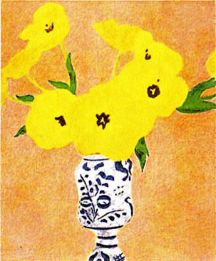 ピエール・ボンコンパン「黄色い花」