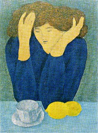 ピエール・ボンコンパン「レモンの朝食」