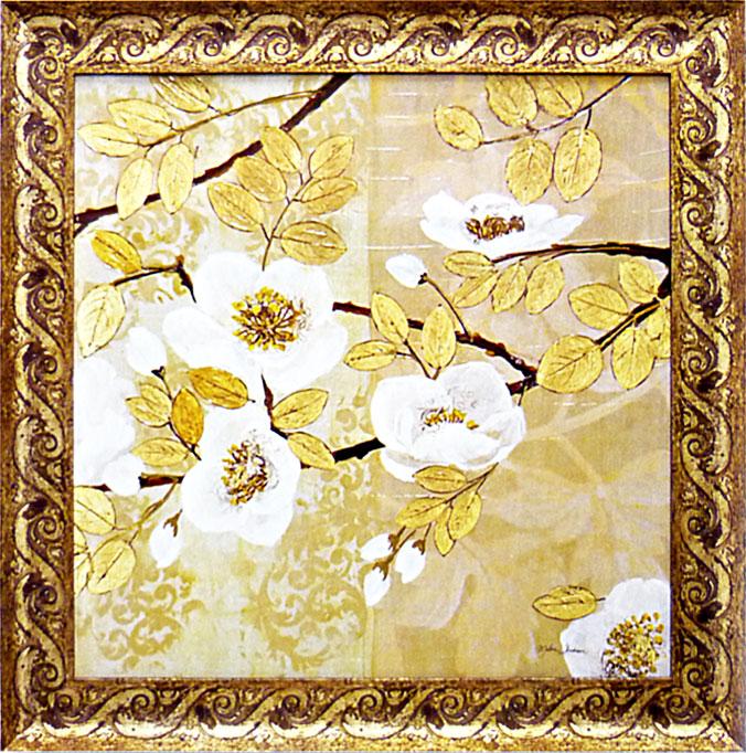 絵画 マティーナ セオドシウ 「黄金色の輝き2」 アート・贈り物