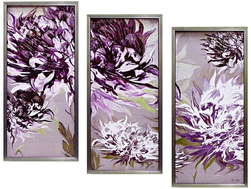 絵画 サリー スカファーディ 「紫の魅惑」 アート・贈り物