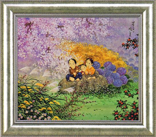 「四季の中で」 開田風童 ジクレー
