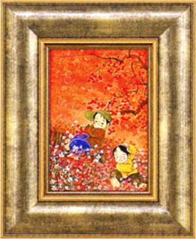 「秋いっぱい」 開田風童 ジクレー