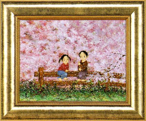 「桜さくら」 開田風童 ジクレー