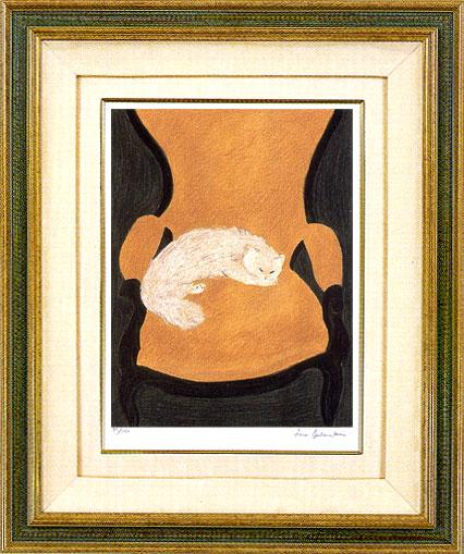 ピエール・ボンコンパン「椅子の上のモイラ」