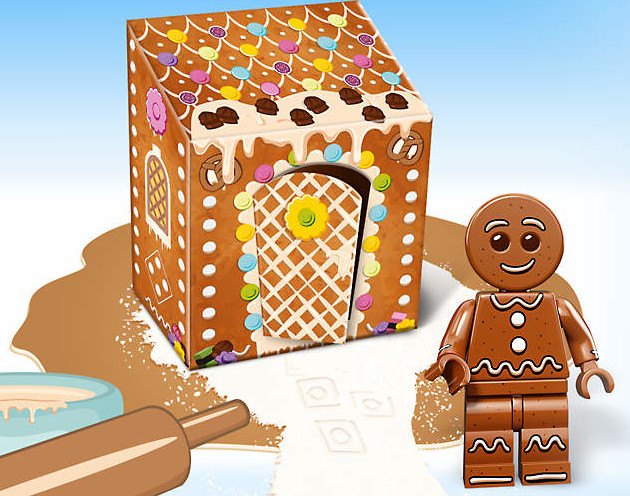 Lego Gingerbread Man Figurine 5005156