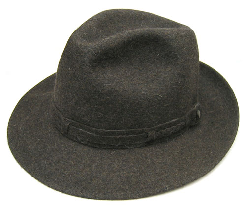 """帽子 イタリア製""""Borsalino(ボルサリーノ)""""ファーフエルトソフト帽(ビバックス)[ハット] 【あす楽対応】[大きいサイズの帽子アリ]【コンビニ受取対応商品】"""