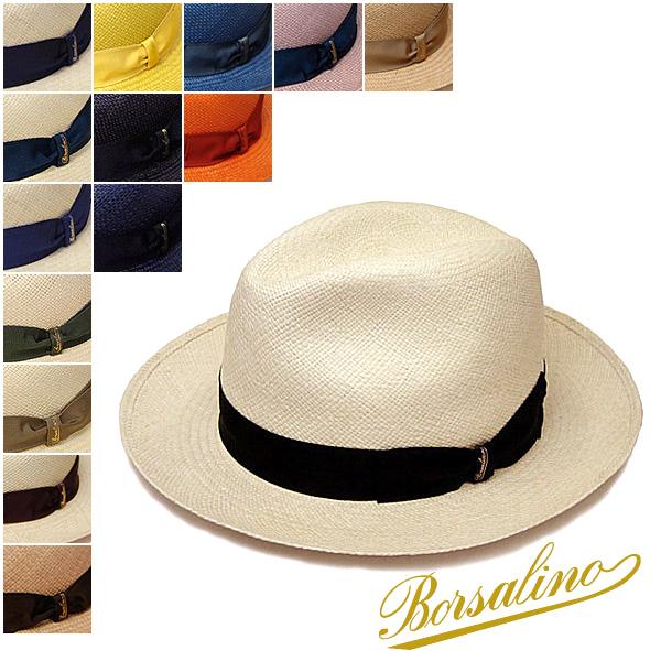 """帽子 イタリア製""""Borsalino(ボルサリーノ)""""パナマ中折れ帽(140228)[ハット] 【あす楽対応】[大きいサイズの帽子アリ][小さいサイズあり]【コンビニ受取対応商品】05P05Nov16"""