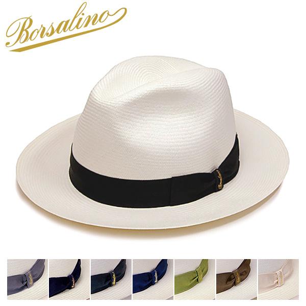 """帽子 イタリア製""""Borsalino(ボルサリーノ)""""パナマ中折れ帽(140338)[ハット] 【あす楽対応】[大きいサイズの帽子アリ][小さいサイズの帽子あり]【コンビニ受取対応商品】"""