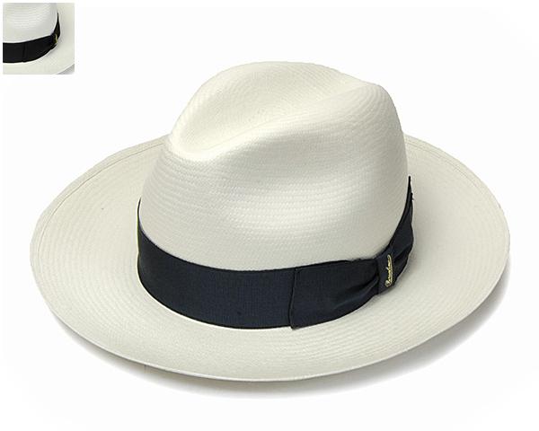 """帽子 イタリア製""""Borsalino(ボルサリーノ)""""パナマ中折れ帽(140340)[ハット] 【あす楽対応】[大きいサイズの帽子アリ][小さいサイズの帽子あり]【コンビニ受取対応商品】"""