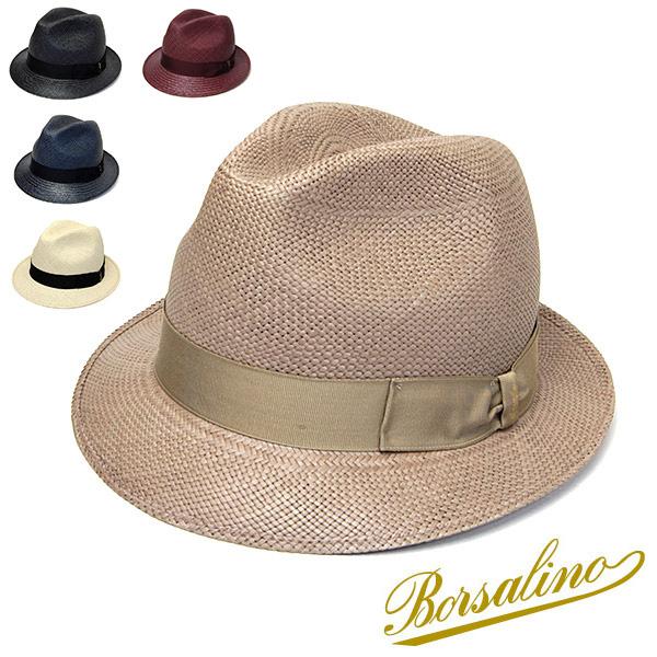 """帽子 イタリア製""""Borsalino(ボルサリーノ)""""パナマ中折れ帽(141089)[ハット] 【あす楽対応】【送料無料】[大きいサイズの帽子アリ][小さいサイズの帽子あり]【コンビニ受取対応商品】"""
