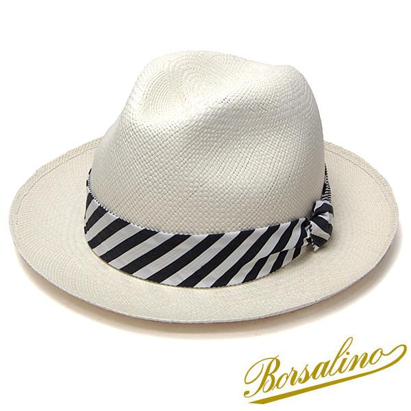 """帽子 イタリア製""""Borsalino(ボルサリーノ)""""パナマ中折れ帽(141121)[ハット] 【あす楽対応】【送料無料】[大きいサイズの帽子アリ][小さいサイズの帽子あり]【コンビニ受取対応商品】"""