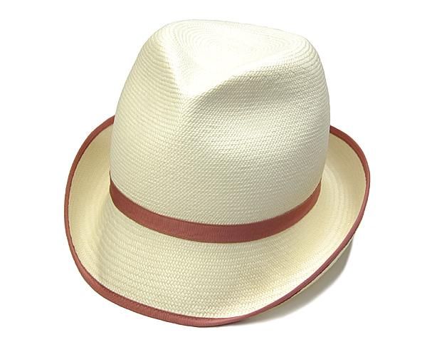 """帽子 イタリア製""""Borsalino(ボルサリーノ)""""パナマ中折れ帽[ハット] 【あす楽対応】[大きいサイズの帽子アリ]【コンビニ受取対応商品】"""