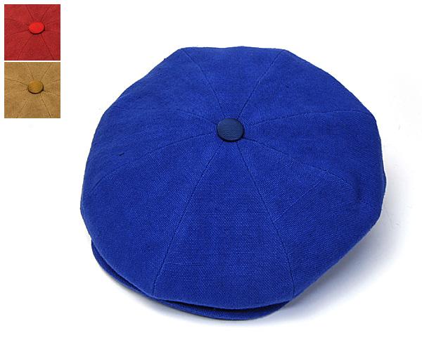 """帽子 イタリア製""""Borsalino18.57(ボルサリーノ)""""リネン8枚はぎハンチング【あす楽対応】[大きいサイズの帽子]【コンビニ受取対応商品】"""