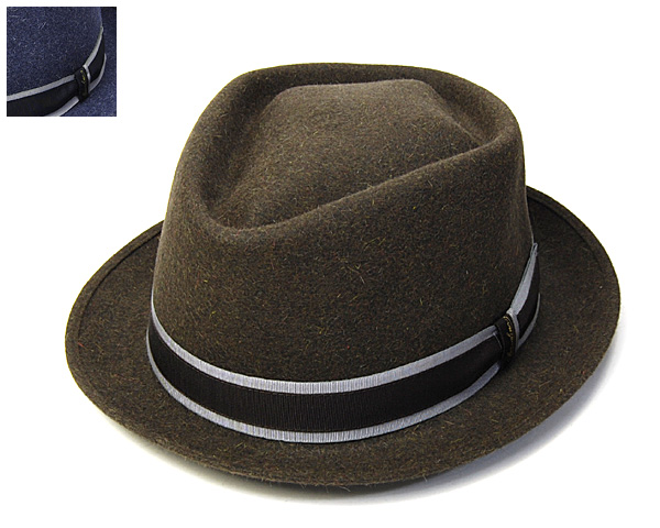 帽子 イタリア製\u201dBorsalino(ボルサリーノ)\u201dファーフェルト