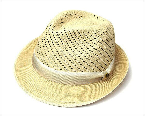 """帽子 """"BUNJIROW(文二郎)""""パナマ中折れ帽<パナマコラボレーション>[ハット] 【あす楽対応】[大きいサイズの帽子アリ][小さいサイズの帽子あり]【コンビニ受取対応商品】"""