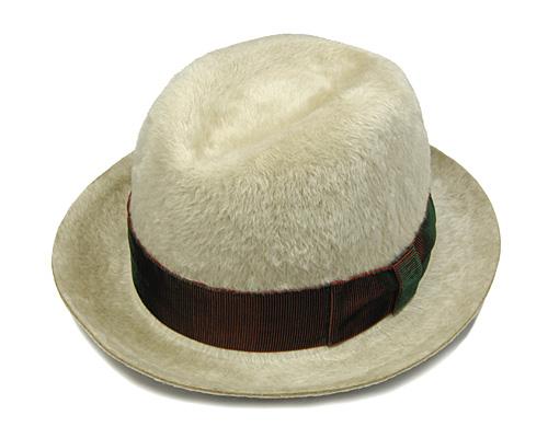"""帽子 """"BUNJIROW(文二郎)""""ファーフエルト中折れ帽<ロングヘアーソウルジェームス>[ハット] 【あす楽対応】[大きいサイズの帽子アリ]【コンビニ受取対応商品】"""