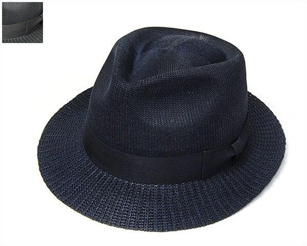 """帽子 """"BUNJIROW(文二郎)""""シルクニット中折れ帽<シルクモントレー>[ハット] 【あす楽対応】[大きいサイズの帽子アリ]【コンビニ受取対応商品】"""