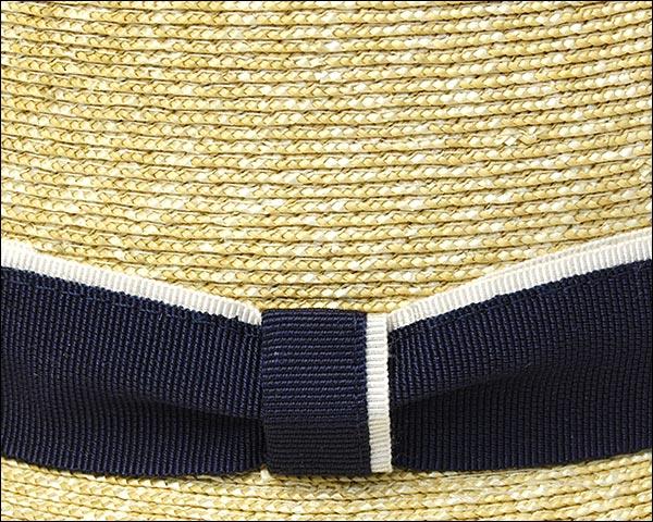 """意大利""""帽子的梦想黑色标签""""秸秆叶片甚而帽子 05P05Dec15"""