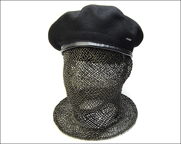 Mens Classic  Kangol  Wool  Monty  Military  Beret  Color  Forrester