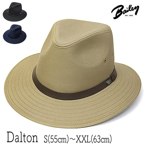"""アウトドアにも最適なワイルドリバーシリーズのハット 帽子 アメリカ""""Bailey ベイリー """"つば広マニッシュハット ☆国内最安値に挑戦☆ 税込 DALTON ダルトン メンズ ハット 小さいサイズあり 大きいサイズの帽子アリ 春夏 中折れ帽"""