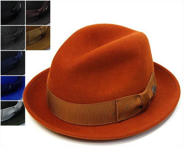 """帽子 アメリカ""""Bailey(ベイリー)""""ウールフエルト中折れ帽<RIFF>[ハット] [大きいサイズの帽子アリ]【あす楽対応】【コンビニ受取対応商品】"""