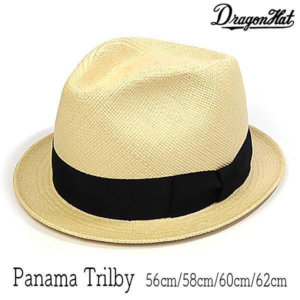 """帽子 """"DRAGON HAT(ドラゴンハット)""""パナマ中折れ帽(小つば)[ハット] 【あす楽対応】 【送料無料】[大きいサイズの帽子アリ][小さいサイズの帽子あり]【コンビニ受取対応商品】"""