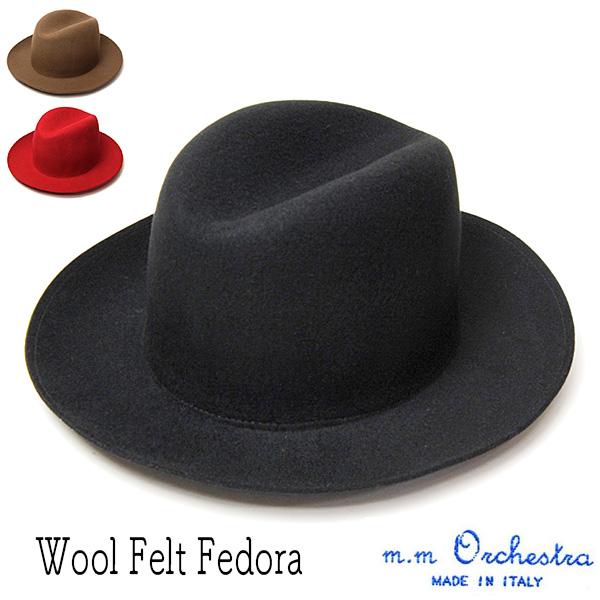 9cff7a387d4 kawabuchi hats ltd hat m m orchestra m m orchestra wool felt. american hat  company men
