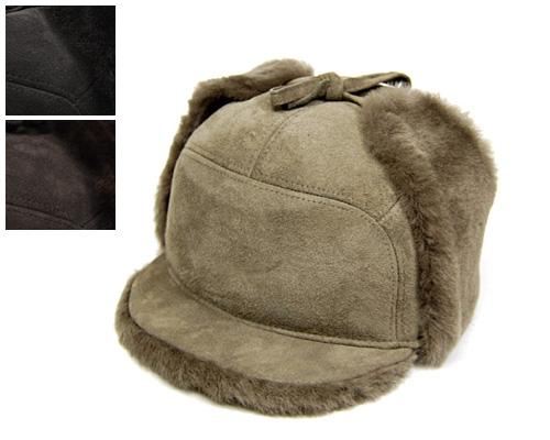 """帽子 【アウトレット】 フランス""""MISTRAL(ミストラル)""""ムートンイヤーフラップ付きキャップ[大きいサイズの帽子アリ][小さいサイズの帽子あり]【あす楽対応】【コンビニ受取対応商品】"""