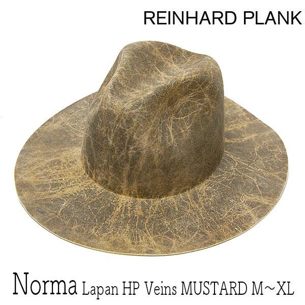 """帽子 イタリア""""REINHARD PLANK(レナード プランク)""""ファーフエルト中折れ帽(NORMA LAPAN HP VEINS)[ハット] 【あす楽対応】【送料無料】[大きいサイズの帽子アリ]"""