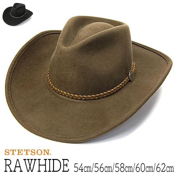 """帽子 アメリカ""""STETSON(ステットソン)""""バッファローフエルトテンガロンハット[RAWHIDE ハット] 【あす楽対応】[大きいサイズの帽子アリ][小さいサイズの帽子あり]"""