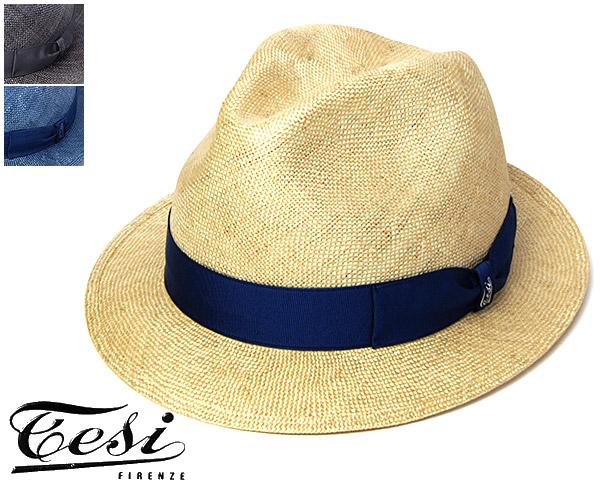 """帽子 イタリア""""TESI(テシ)""""小つばシゾール中折れ帽[ハット] 【あす楽対応】 [大きいサイズの帽子アリ]【コンビニ受取対応商品】"""