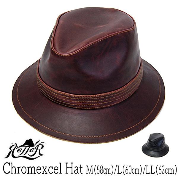 """帽子 Retter(レッター)""""レザーハット[Chromexcel Hat][ハット]【あす楽対応】【コンビニ受取対応商品】 17AWC"""