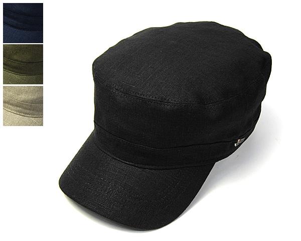 """帽子 スウェーデン""""WIGENS(ヴィーゲン)""""リネンミリタリーキャップ【あす楽対応】 [大きいサイズの帽子アリ][小さいサイズあり]【コンビニ受取対応商品】 *18ss2 アウトレットセール"""